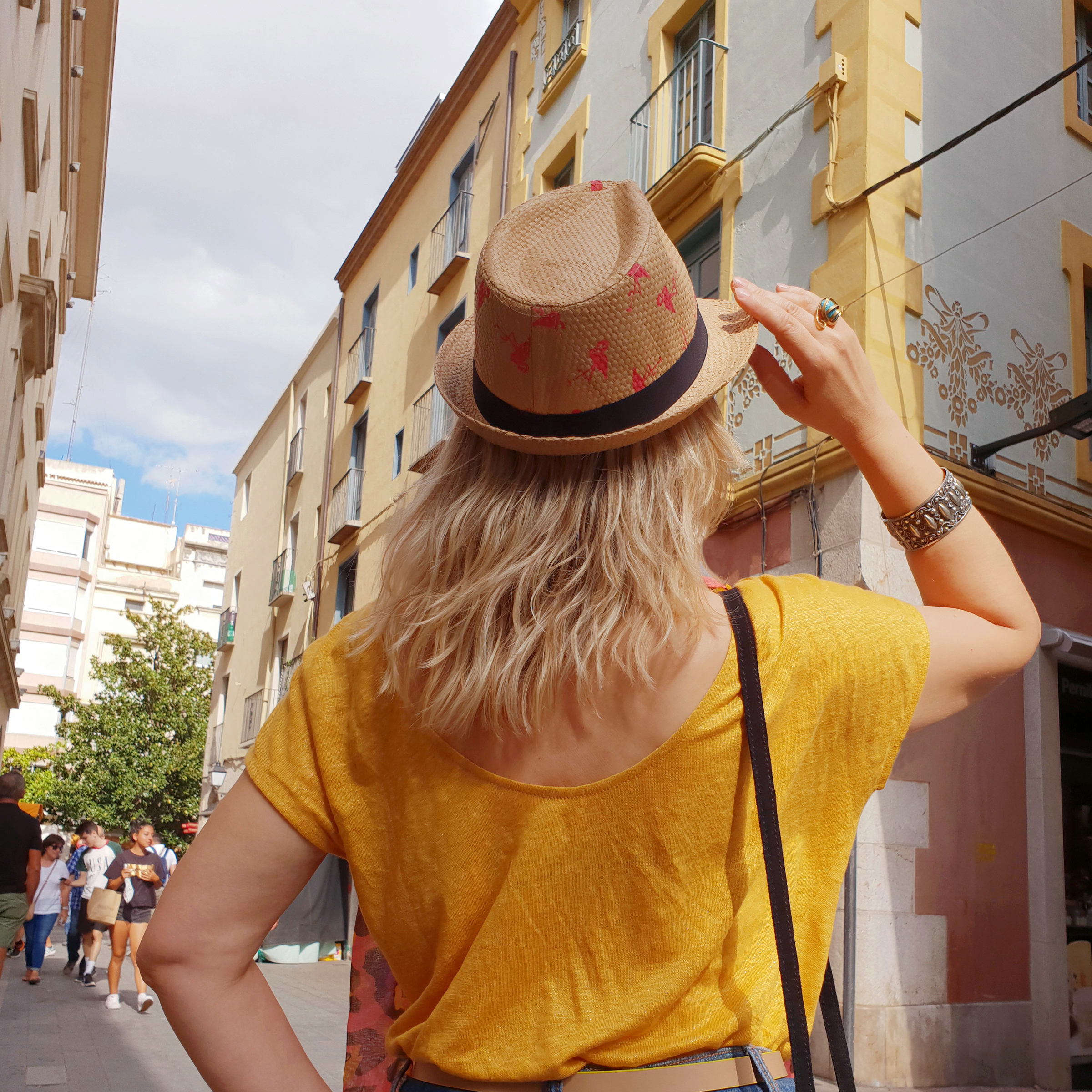Dans les rues de Figueras