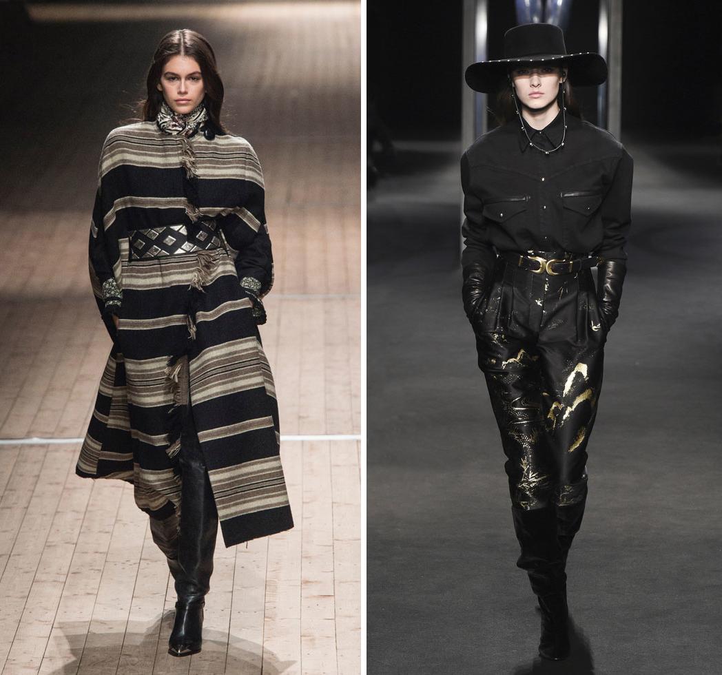 Le style western à la Fashion Week