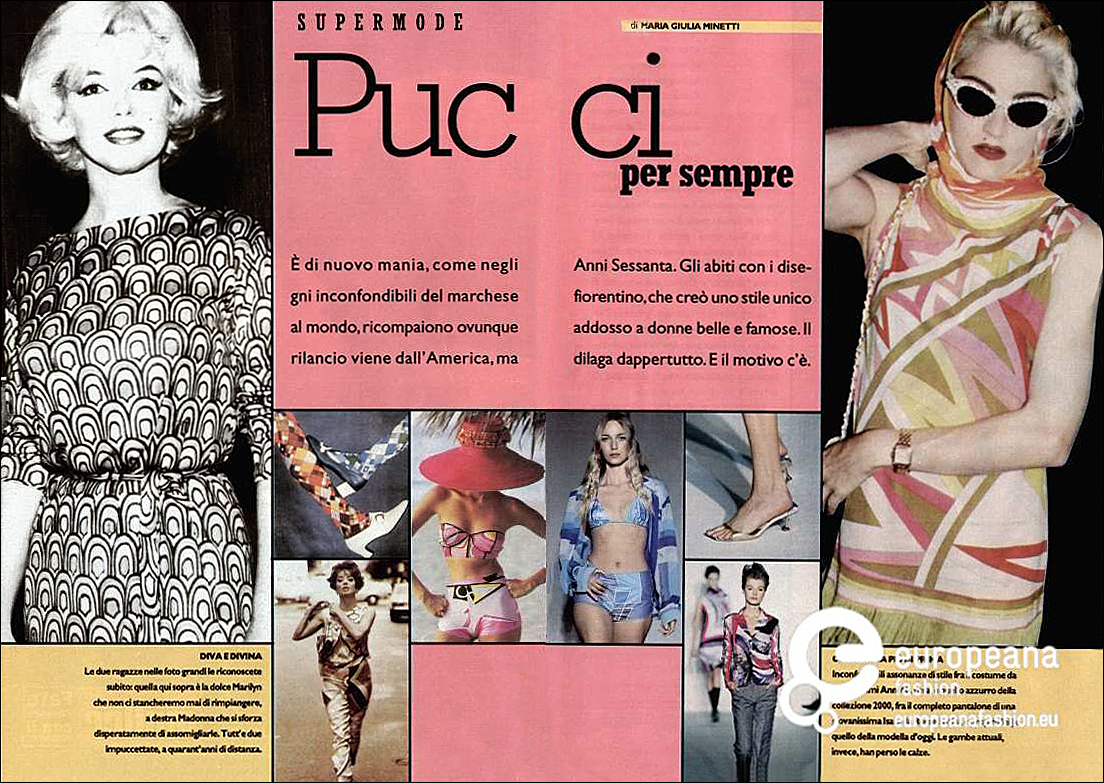 Article Pucci copy