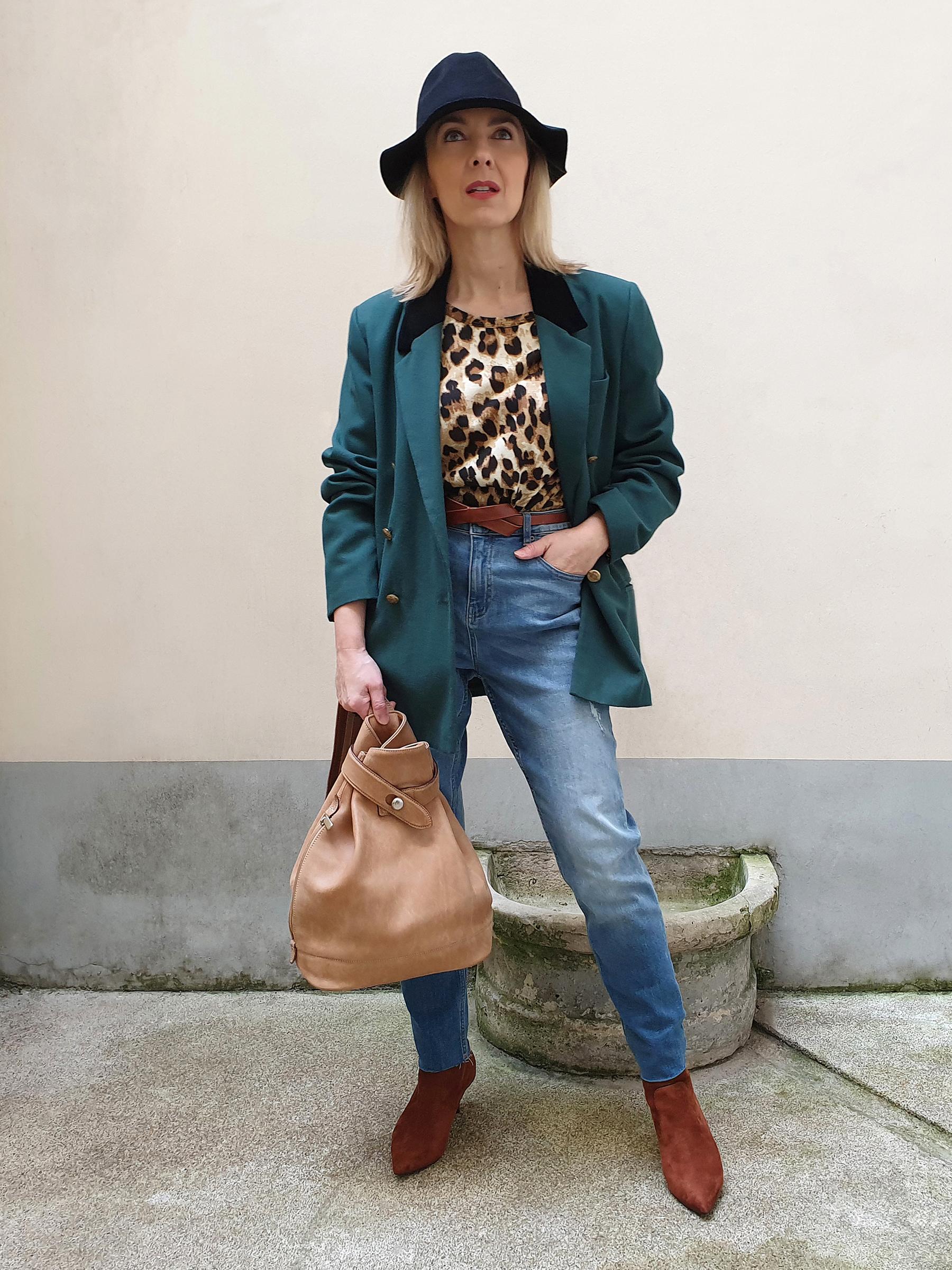 Blazer & jeans (1)