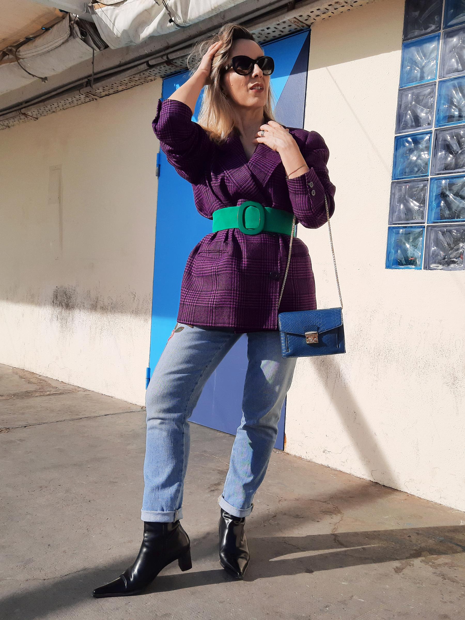 Blazer violet (1)