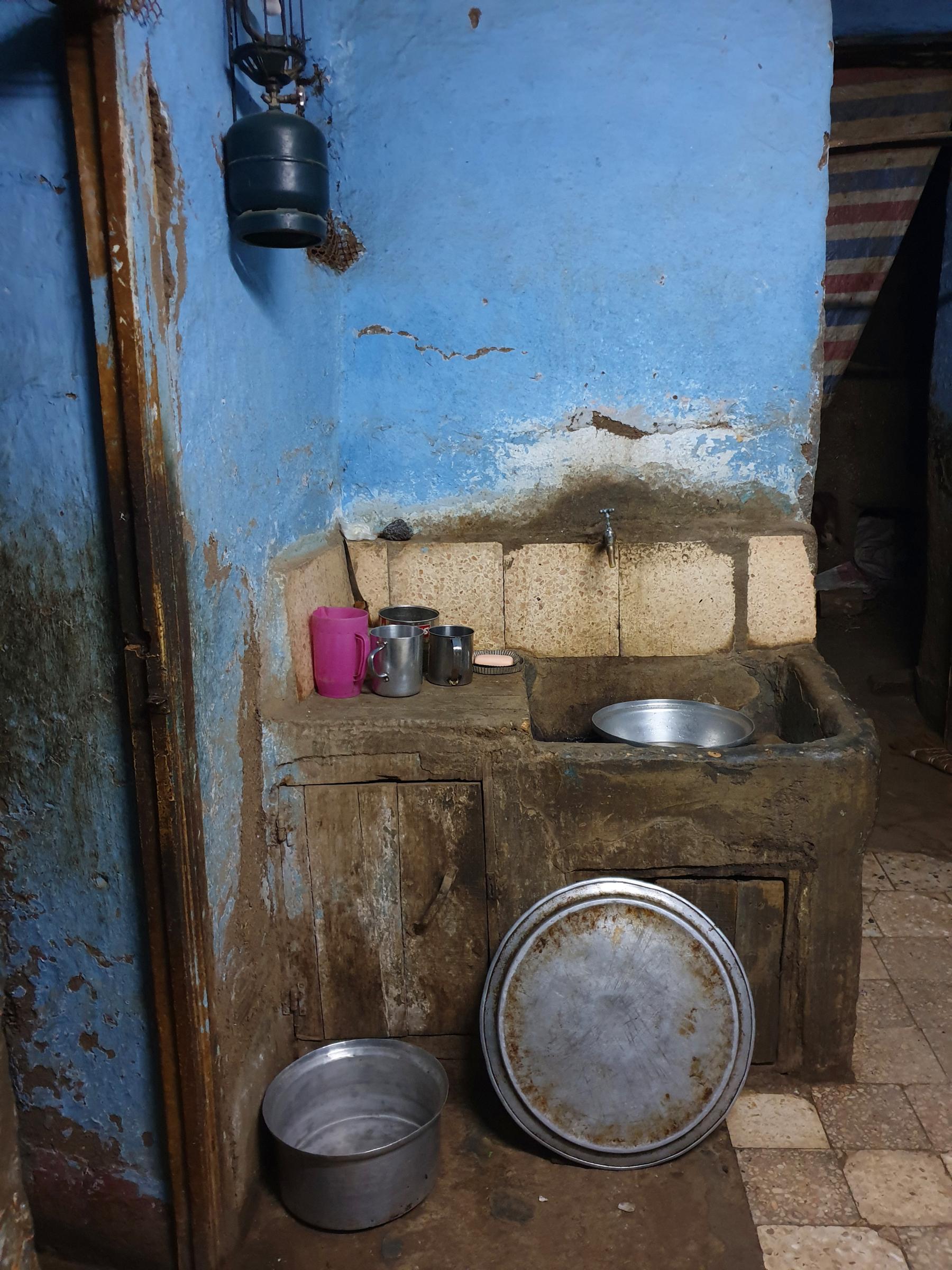 Maison typique dans le quartier Omraneya