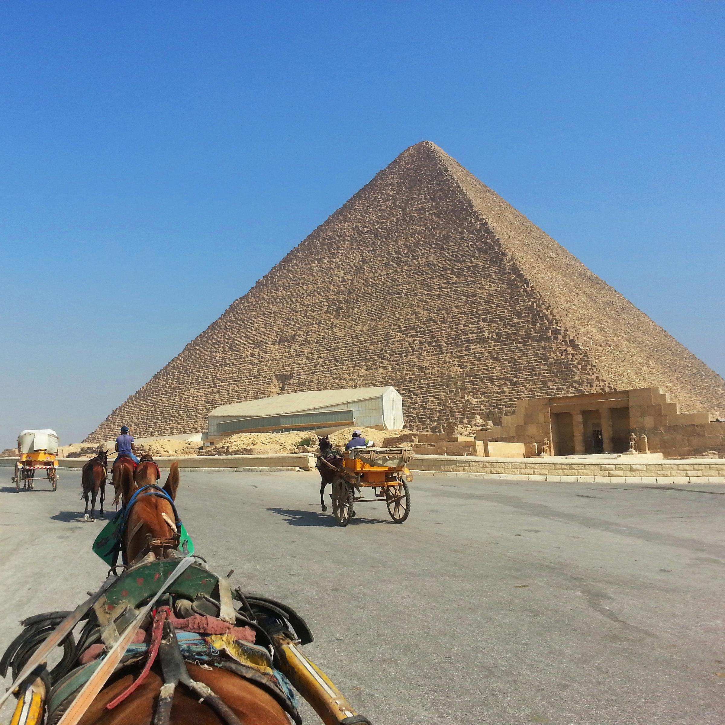 Plateau de Gizeh - pyramide de Khéops
