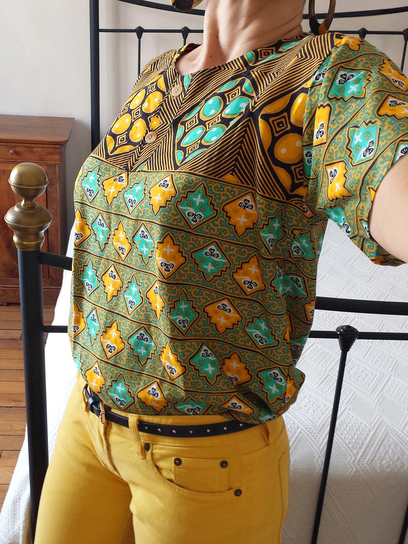 Jaune poussin & batik (1)