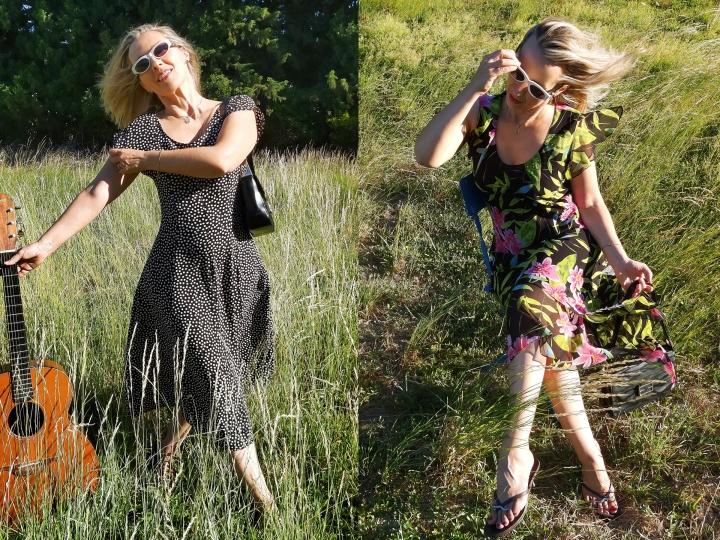 Deux tenues estivales en robevintage