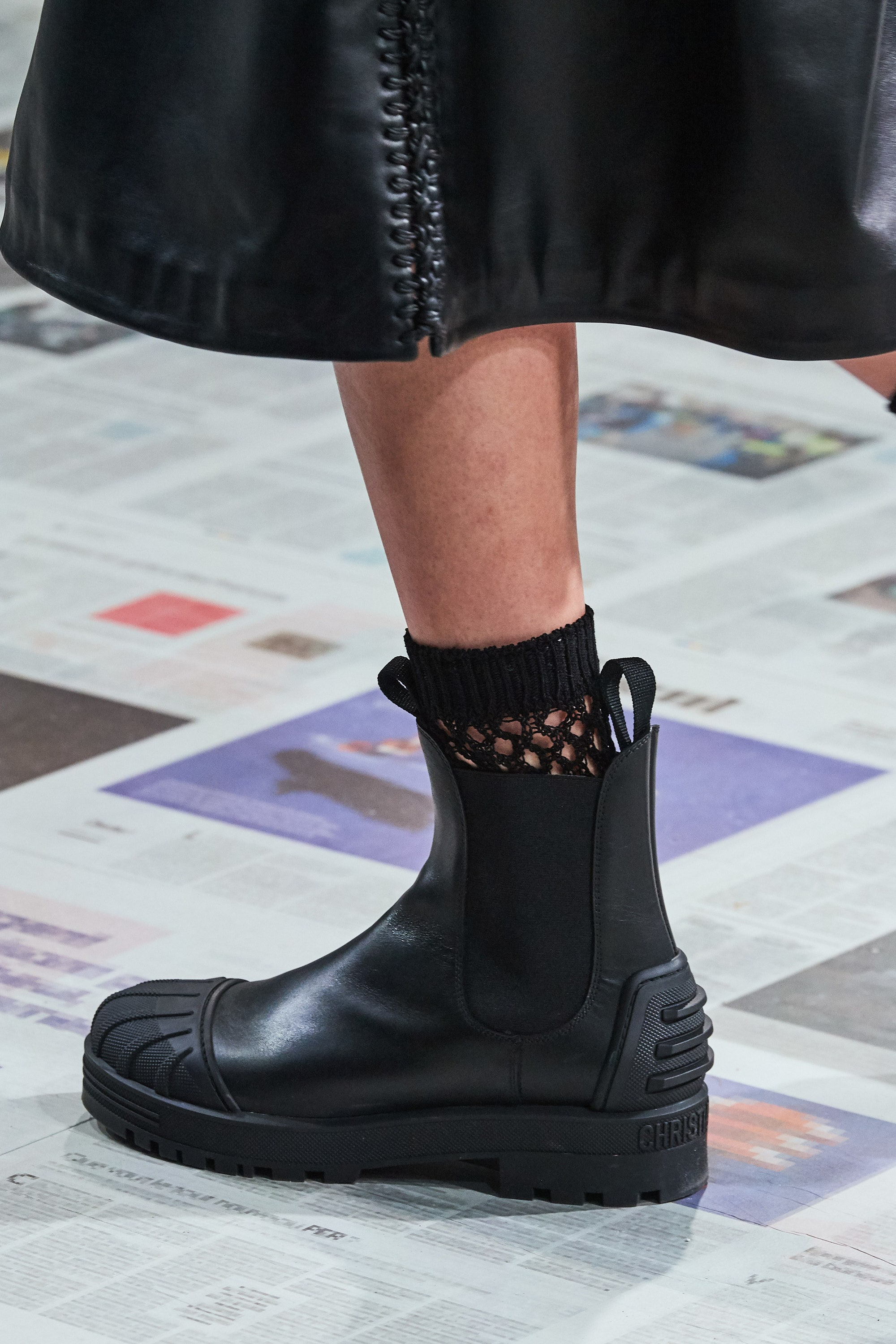 Boots Christian Dior FW2020