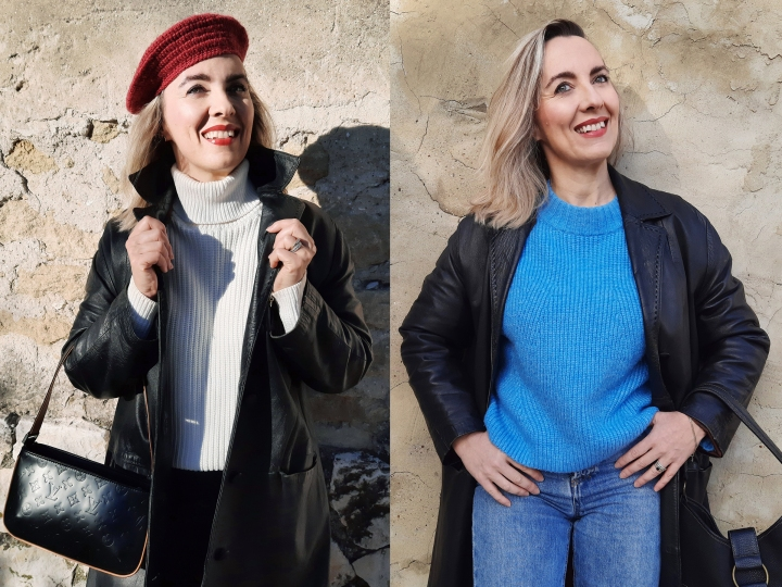Deux tenues d'hiver enbicolore